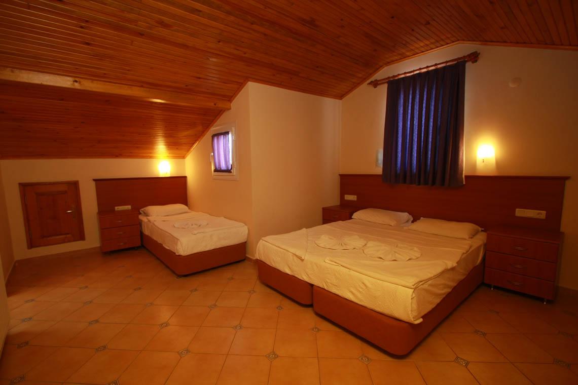 C Tipi Lüks 2 yatak odalı